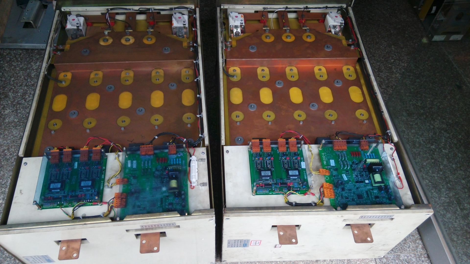 高压变频器维修完毕准备出库