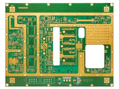 罗杰斯+FR4高频混压电路板